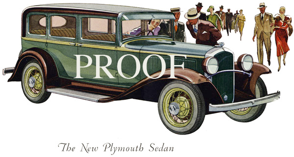 1932 Plymouth Sedan
